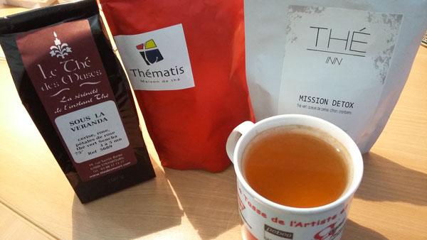 Sélection de thé vert à Strasbourg